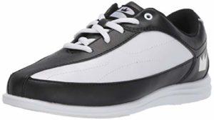 Brunswick Bliss Chaussures de Bowling pour Femme, Femme, 58105202 060, Noir/Blanc, 6 Wide