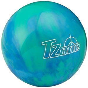 Brunswick TZone Caribbean Boule de bowling Bleu Bleu 11s lb lb