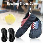 Beauneo 1 paire de couvre-chaussures de bowling de qualité supérieure pour l'intérieur et l'extérieur du centre de bowling ou du bureau