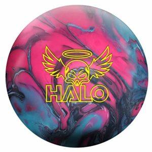 Roto Grip Halo Boule de Bowling réactive pour débutants et Joueurs de Tournoi avec nettoyant EMAX 100 ML, 13 LBS