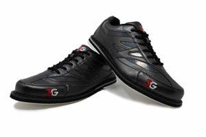 Chaussures Bowling 3G Cruze Homme et Femme, Homme, Femme, Droitier et Gaucher 4 Couleurs Pointures 36-46, Noir, Taille 38