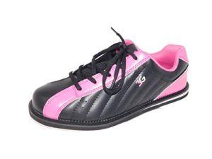 Chaussures de bowling 3G Kicks, pour homme et femme, pour droitiers et gauchers, schwarz-pink
