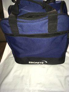 Ebonite Basic Sac de transport pour boule de Bowling Noir/Bleu