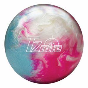 Brunswick T-Zone Frozen Bliss Boule de Bowling Rose/Bleu/Blanc, Mixte, 60-106198-966, Rose/Bleu Glace/Blanc, 6