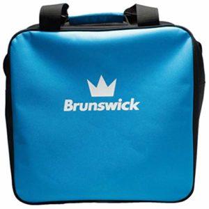Brunswick T-Zone Sac de bowling simple Motif vague Bleu