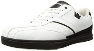 Brunswick Vapor Chaussures de Bowling pour Homme Blanc/Noir, Homme, 58-201110012, Blanc/Noir, 11.5 UK