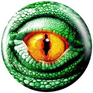 Brunswick Viz-a-Ball Lizard Eye Ballon de bowling, VB619481, 12 lbs