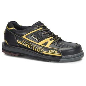 Dexter SST 6 Paire de Chaussures de Bowling Hybrides pour Homme Noir/doré 13 W
