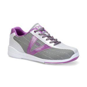 Dexter Vicky Chaussures de Bowling pour Femme Argenté/Gris/Violet Taille 8