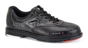 Homme Chaussures de bowling Dexter The 9avec semelle de change/de Houe en cuir véritable, noir