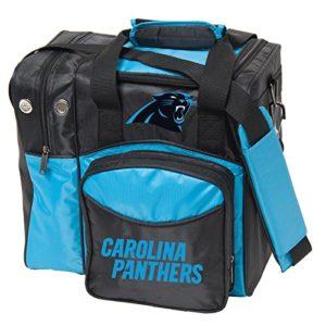 KR Strikeforce Carolina Panthers Sac de Bowling Multicolore
