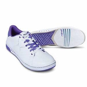 KR Strikeforce Gem Chaussures de Bowling pour Femme Blanc/Violet Taille 9
