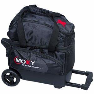 Moxy Unique Deluxe Sac de bowling à roulettes, noir