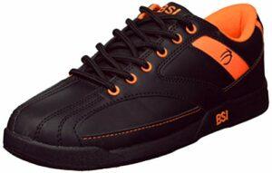 BSI Chaussures de Bowling pour Homme Noir/Orange Taille 11