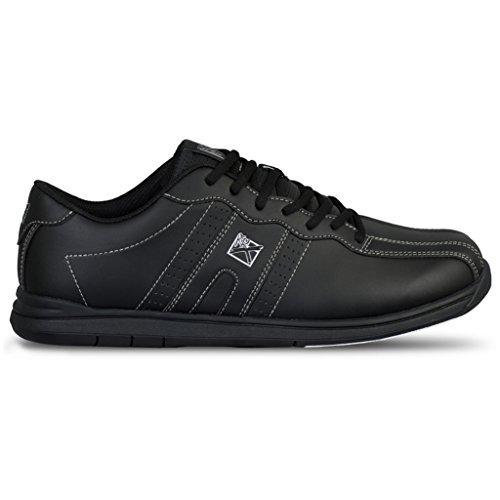 KR Strikeforce O.p.p Chaussures de Bowling pour Homme Noir, Homme, KRM045 075, Noir, Size 7.5