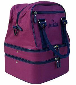 Acclaim Blyth Mini sac de bowling pour intérieur et extérieur Bordeaux / Bleu marine