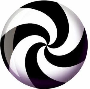 Balle de bowling spirale Viz-a-Bball de bowling 12 lbs.