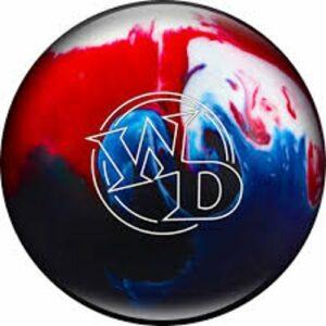 Columbia 300Blanc Dot Boule de Bowling, 029744034676, Patriot Sparkle, 4,5kg