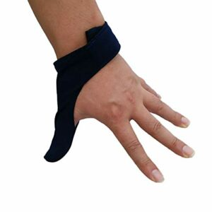 perfeclan Gant De Protection élastique pour Doigt De Bowling/Protège-Boules De Bowling – Bleu Royal, 11cm