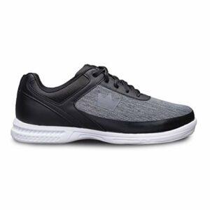 Brunswick Bowling Products Frenzy Static Chaussures de Bowling pour Homme Noir/Gris Taille M US Noir/Gris Taille 9