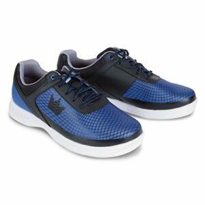 Brunswick Frenzy Chaussures de Bowling pour Homme Bleu Roi/Noir Pointure 40