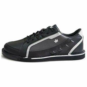 Brunswick Punisher Chaussures de bowling pour homme droitier Noir/argenté Pointure 41,5