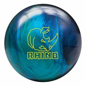 Brunswick Rhino Boule de bowling Bleu cobalt/bleu sarcelle/bleu sarcelle 7,3 kg
