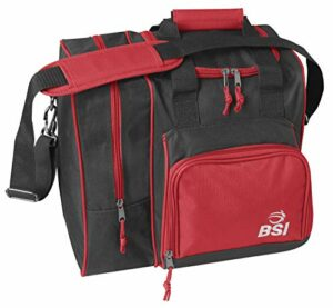 BSI 423de Bowling Sacs, Noir/Rouge