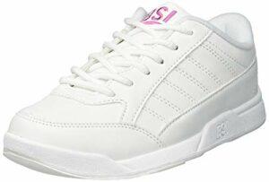 BSI pour Fille Basic # 432Chaussures de Bowling, Fille, 00432-4.0, Blanc, Size 4.0