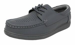 Dek Unisex Adults Crown Bowling Chaussure Grey 10 UK / 44 EU