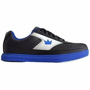 Brunswick Bowling Products Renegade Chaussures de Bowling pour Homme Taille M Noir/Bleu Roi Taille 42