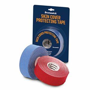 Brunswick Skin Cover Protection Tape–1rouleau de bowling–5m (différentes couleurs), 56-B20107000, Rot