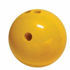 Cramer Cosom Boules de Bowling avec Extra Doigt Trous, 1,4Kilogram, Yellow Pl, 1,3 kg