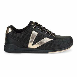 Dexter Bowling Shoes Dexter Vicky Chaussures de Bowling pour Femme Noir/Or Rose Pointure 39