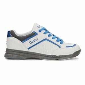 Dexter Chaussures de Bowling pour Homme Bud Blanc/Bleu Taille 45