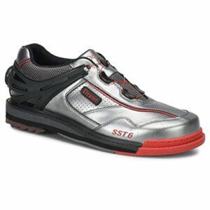 Dexter Dxdp0000482085pour Homme SST 6Hybride Boa Chaussures de Bowling pour la Main Droite, Gris/Noir/Rouge