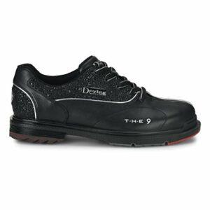 Dexter The 9 Black Jewel Chaussures de Bowling pour Femme, Femme, DP0001101M-110, Noir, 9 UK
