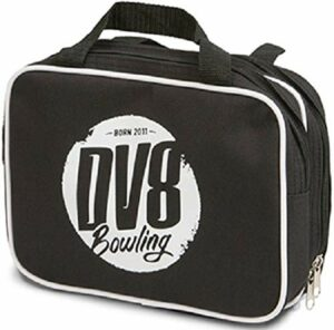 DV8Accessoire de Sac de Bowling, Noir/Argent