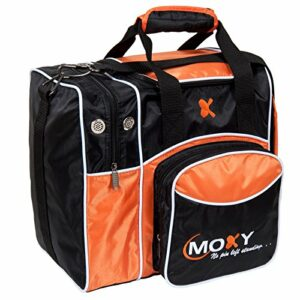 Moxy Deluxe Single Sac de bowling, orange/noir