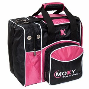 Moxy Deluxe Single Sac de Bowling, Rose/Noir