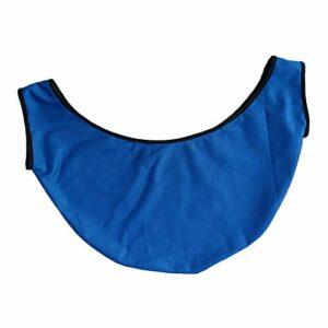 Almencla Sac de Transport de Boule de Bowling de Haute Qualité Sac de Nettoyage de Bowling Noir/Bleu – Bleu, 50x23cm