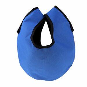 yotijar Sac de Boule de Bowling, Accessoires de Sport de Nettoyeur de Boule de Bowling – Bleu, comme Décrit