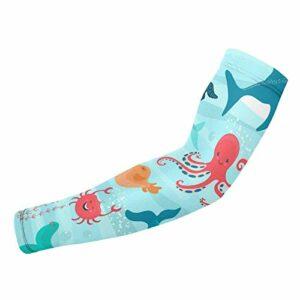 1 paire de gants de protection anti-UV pour sports de plein air Motif boules de bowling et broches Unisexe