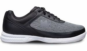 Brunswick Chaussures de bowling Frenzy pour débutants et confirmés en 3 tailles 38-47 – Noir – Statique, 43.5 EU