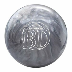 Columbia 300 Blue Dot Bowling Ball – Silver 16lbs