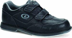 Dexter Chaussures de Bowling à Sangle en V pour Homme – – Noir, 44 EU
