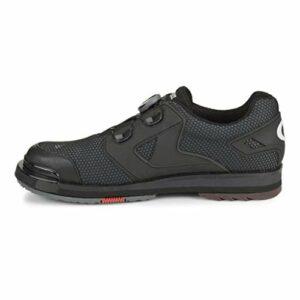 Dexter SST 8 Power Frame BOA Grey/Blk Mens Size 14, Chaussures de Bowling Homme, Noir/Gris, Taille 42