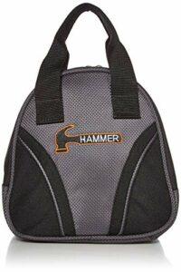 Hammer Marteau Plus 1Sac de Bowling, Noir/Gris Carbone