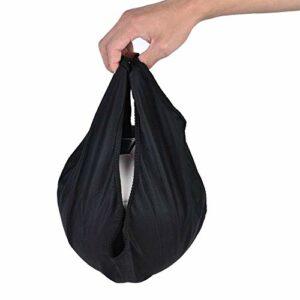Pochette de Boule de Bowling, Pochette de Haute qualité, Sac de Boule de Bowling Portable, Porte-Balle Portable, pour équipement de Gymnastique Jouets Boule de Bowling Sports(Black)