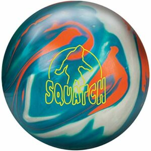 Radical Hybrid Ballon de Bowling, Teal/Platinum Orange, 12 Lbs